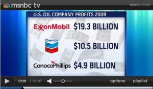 Big Oil Companies Profits