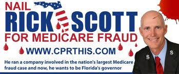 Rick Scott didn't know about the Medicare fraud at his company, HCA/Columbia?