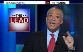 Reverend Al Sharpton of MSNBC TV's Politics Nation