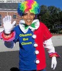 President Obama the Clown