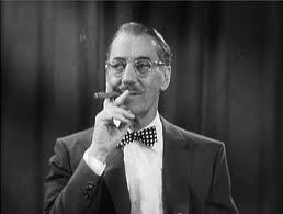 Groucho Marx:  we need the eggs