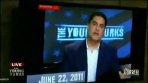 Cenk Uygur on June 22 2011 predicting Obama's progressiveness for 2012 election