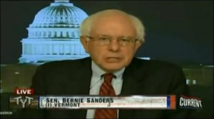 Senator Bernie Sanders from Vermont