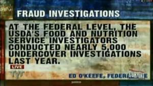 USDA Undercover Investigations