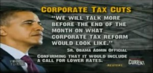 President Obama's corporate tax cuts