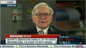 Warren Buffett refuting the myth about lowering corporate taxes for American competitiveness