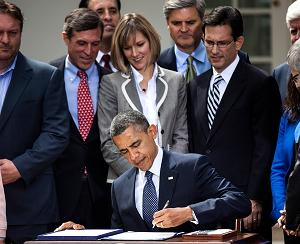 Obama signing JOBS Act