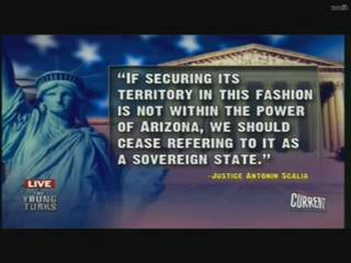 we should cease referring to Arizona as a sovereign state