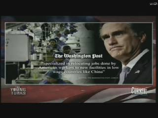Washington Post Romney outsourced jobs to China
